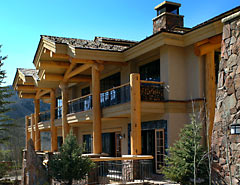 Custom Residential Log Home